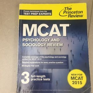 Princeton review mcat phycology & sociology review